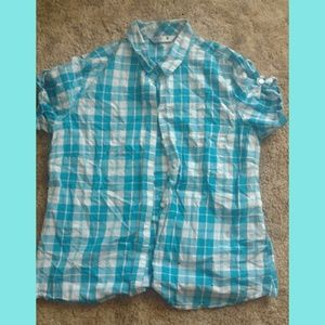 L Riders by Lee Button Up Plaid Shirt be30a4050